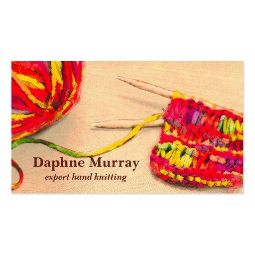 yarn business card templates page3 bizcardstudio