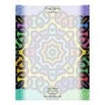 Colorful Knotwork Letterhead