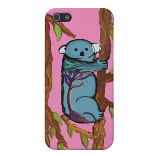 Colorful Koala iPhone SE/5/5s Cover