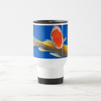 Colorful Koi Photo Travel Mug