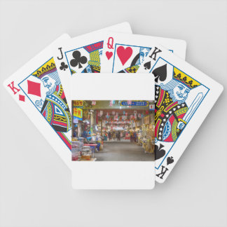 Colorful Korean Marketplace Bicycle Playing Cards