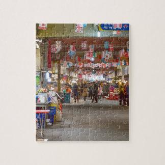 Colorful Korean Marketplace Puzzle