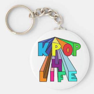 Colorful KPOP 4 LIFE Keychain