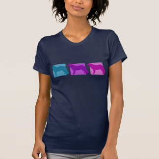 Colorful Kuvasz Silhouettes T-Shirt