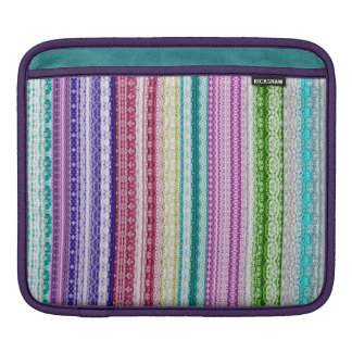 Colorful Lace Pattern Sleeve For iPads