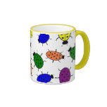 Colorful Ladybug Mug
