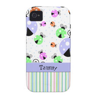 Colorful Ladybugs iPhone Tough Case iPhone 4/4S Cover