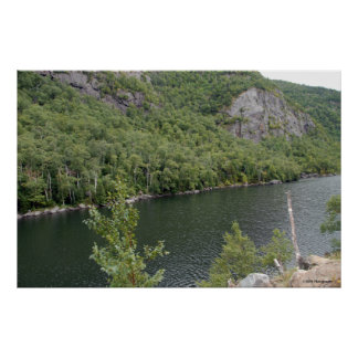 Colorful lake in the Adirondacks. print 005