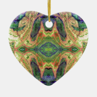 Colorful Landscape Earth Art Ornaments