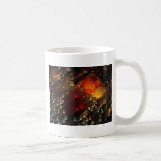 Colorful lanterns coffee mug
