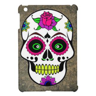 Colorful Large Candy Skull iPad Mini Cases