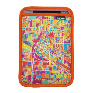 Colorful Las Vegas, Nevada Map Sleeve For iPad Mini