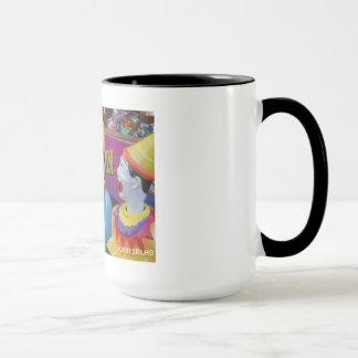 Colorful Laughing Clown Mug