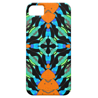 Colorful Layers Pattern iPhone SE/5/5s Case
