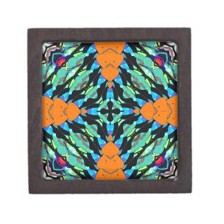 Colorful Layers Pattern Premium Gift Box