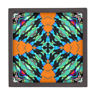 Colorful Layers Pattern Premium Gift Boxes