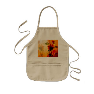 Colorful leaves kids' apron