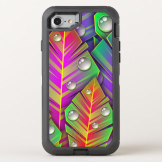 Colorful Leaves OtterBox Defender iPhone 8/7 Case