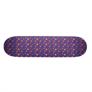 Colorful Leaves Skateboard