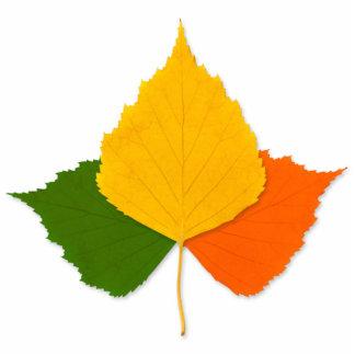Colorful leaves statuette
