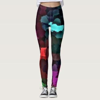 colorful Leggings modern trendy pattern elegant