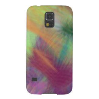 Colorful Lemon Yellow Pink Berry Burst Abstract Galaxy S5 Cover