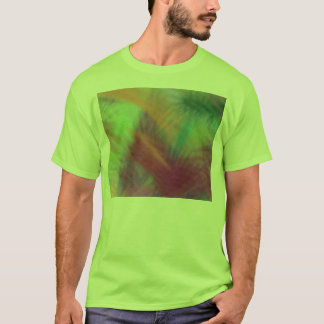 Colorful Lemon Yellow Pink Berry Burst Abstract T-Shirt