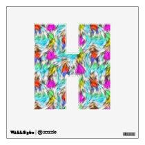Colorful Leopard Fur Pattern Wall Sticker
