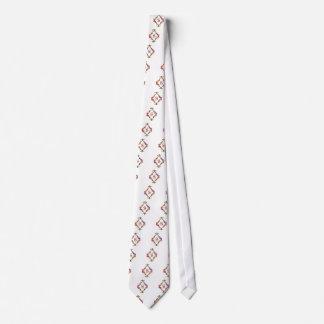 Colorful Letter S Monogram Initial Neck Tie