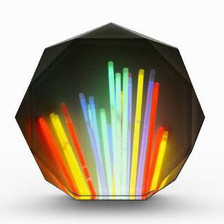 colorful life acrylic award