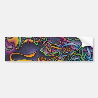 Colorful Life Bumper Sticker Car Bumper Sticker