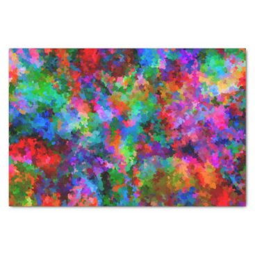 Beach Themed Colorful Life Tissue Paper