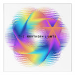 Colorful light images design - acrylic print