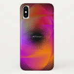 Colorful light images design iPhone XS case