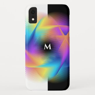 Colorful light images design - iPhone XR case