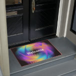 Colorful light images design - doormat