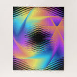 Colorful light images design - jigsaw puzzle