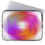 Colorful light images design laptop sleeve