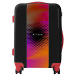 Colorful light images design luggage