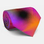 Colorful light images design neck tie