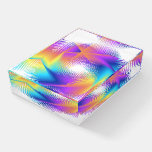 Colorful light images design - paperweight