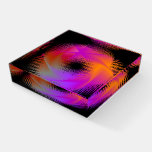 Colorful light images design paperweight