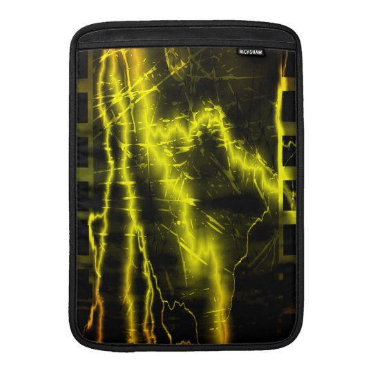 Colorful lightning bolts and  - Macbook Air Sleeve