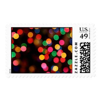 Colorful Lights Postage