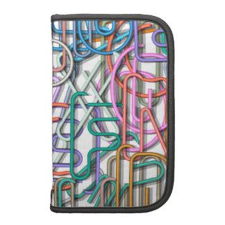 Colorful Line Art Letters Folio Planner