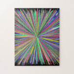 [ Thumbnail: Colorful Line Burst Pattern Puzzle ]