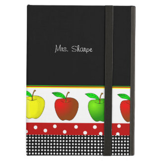 Colorful Line of Apples iPad Air Case