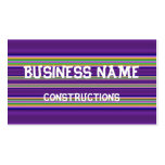 Colorful Line pattern Business Cards
