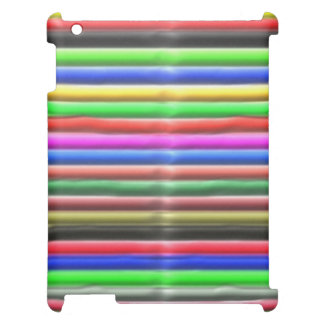 colorful line pattern case for the iPad