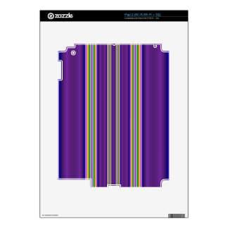 Colorful Line pattern Decals For iPad 2